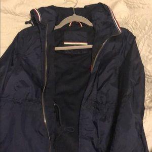 A tommy rain coat / wind breaker